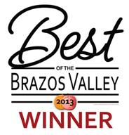 Best Brazos Valley Winner 2013